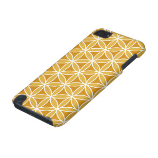 Flower of Life Big Ptn Oranges & White iPod Touch 5G Case