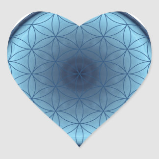 flower of life blue created by Tutti Heart Stickers