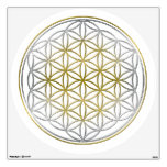 FLOWER OF LIFE / Blume des Lebens - BiColor Wall Decal