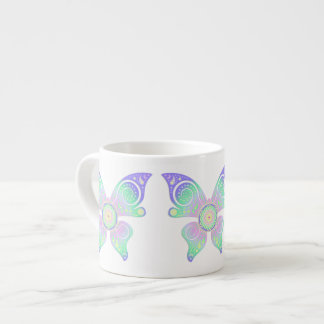 Flower of Life / Blume des Lebens - butterfly Espresso Cup