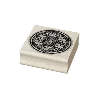 Flower Of Life / Blume des Lebens - Button I Rubber Stamp