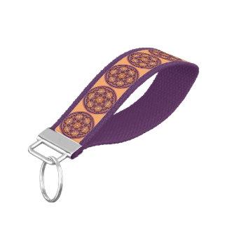 Flower Of Life / Blume des Lebens - Button II Wrist Keychain