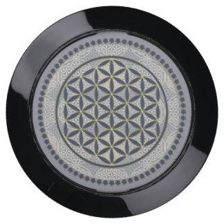 Flower of Life / Blume des Lebens - Button IX USB Charging Station