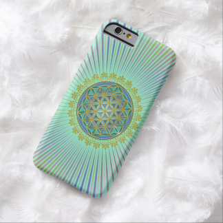 Flower Of Life / Blume des Lebens - Button V Barely There iPhone 6 Case