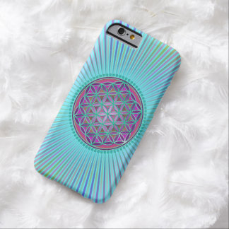 Flower Of Life / Blume des Lebens - Button VI Barely There iPhone 6 Case