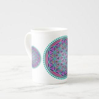 Flower Of Life / Blume des Lebens - Button VI Tea Cup