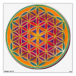 Flower of Life / Blume des Lebens - colorful Wall Decal