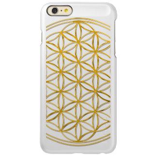 Flower Of Life / Blume des Lebens - gold Incipio Feather® Shine iPhone 6 Plus Case