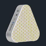 """Flower of Life / Blume des Lebens - gold pattern Bluetooth Speaker<br><div class=""""desc"""">Spirit Symbol Design by EDDA Fr&#246;hlich / EDDArt 