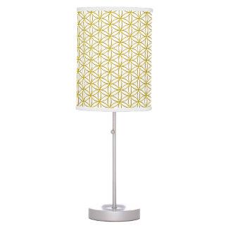 Flower of Life / Blume des Lebens - gold pattern Desk Lamps
