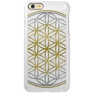 Flower of Life / Blume des Lebens - gold silver Incipio Feather® Shine iPhone 6 Plus Case