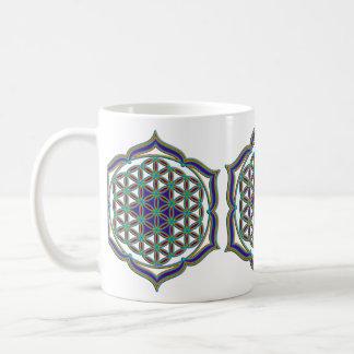 Flower Of Life / Blume des Lebens - Lotus Contour Coffee Mugs