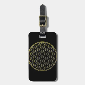 Flower of Life Blume des Lebens Luggage Tag