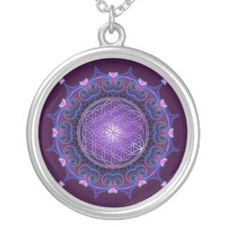 FLOWER OF LIFE / Blume des Lebens - Mandala I Round Pendant Necklace