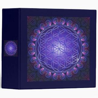 FLOWER OF LIFE / Blume des Lebens Mandala I Square Binder