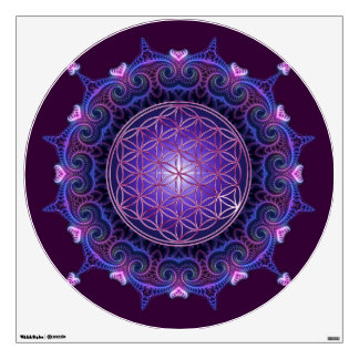 FLOWER OF LIFE Blume des Lebens - Mandala I Wall Skins