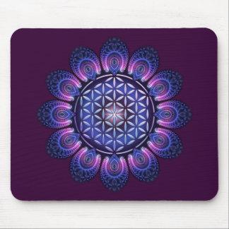 FLOWER OF LIFE / Blume des Lebens - Mandala II Mouse Pad
