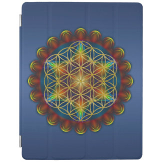 Flower Of Life / Blume des Lebens - Mandala III iPad Smart Cover