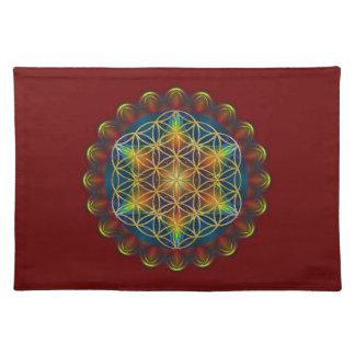 FLOWER OF LIFE / Blume des Lebens - Mandala III Placemat