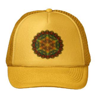 FLOWER OF LIFE / Blume des Lebens - Mandala III Trucker Hat