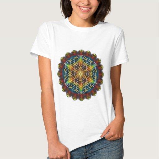 FLOWER OF LIFE / Blume des Lebens - Mandala III T-shirts