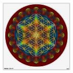 FLOWER OF LIFE / Blume des Lebens - Mandala III Wall Sticker