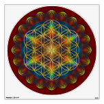 FLOWER OF LIFE / Blume des Lebens - Mandala III Room Graphics