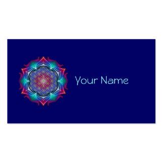 FLOWER OF LIFE / Blume des Lebens - Mandala IV Business Card