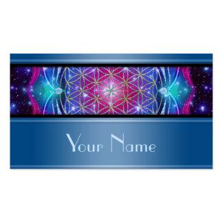Flower Of Life / Blume des Lebens - Mandala IV Double-Sided Standard Business Cards (Pack Of 100)