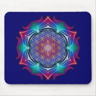 FLOWER OF LIFE / Blume des Lebens - Mandala IV Mouse Pad
