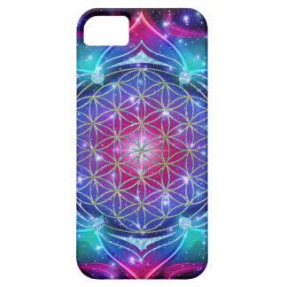 FLOWER OF LIFE/Blume des Lebens Mandala IV Square iPhone SE/5/5s Case