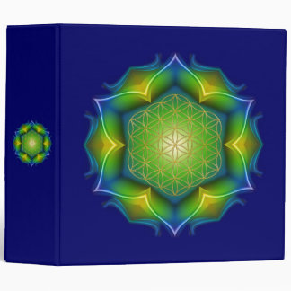 FLOWER OF LIFE / Blume des Lebens - Mandala V Binder