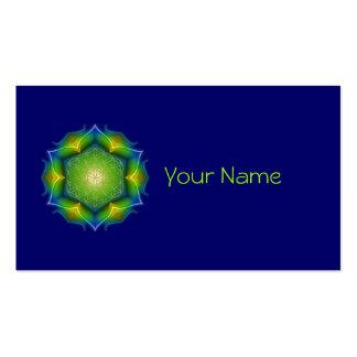 FLOWER OF LIFE / Blume des Lebens - Mandala V Business Card