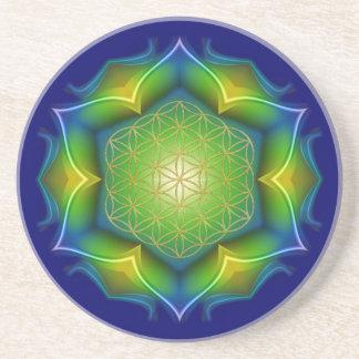 FLOWER OF LIFE / Blume des Lebens - Mandala V Coaster