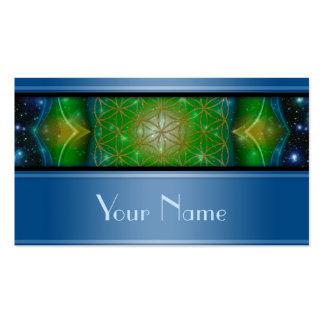 Flower Of Life / Blume des Lebens - Mandala V Double-Sided Standard Business Cards (Pack Of 100)
