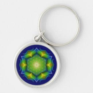 FLOWER OF LIFE / Blume des Lebens - Mandala V Keychain