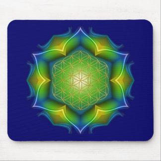 FLOWER OF LIFE / Blume des Lebens - Mandala V Mouse Pad