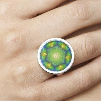 Flower Of Life / Blume des Lebens - Mandala V Photo Ring