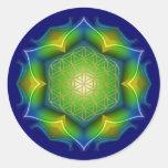 FLOWER OF LIFE / Blume des Lebens - Mandala V Stickers