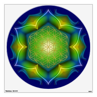 FLOWER OF LIFE / Blume des Lebens - Mandala V Wall Sticker