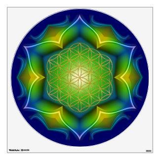 FLOWER OF LIFE Blume des Lebens - Mandala V Wall Skin