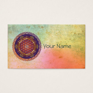 FLOWER OF LIFE / Blume des Lebens - Ornament I Business Card