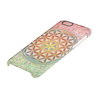Flower Of Life / Blume des Lebens - Ornament I Clear iPhone 6/6S Case