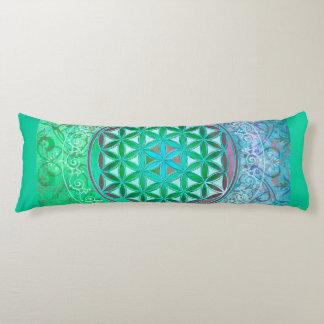 Flower Of Life / Blume des Lebens - Ornament IV Body Pillow