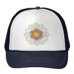 Flower of Life / Blume des Lebens - Ornament IV Trucker Hat