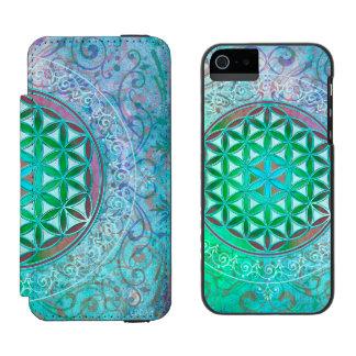Flower Of Life / Blume des Lebens - Ornament IV Incipio Watson™ iPhone 5 Wallet Case