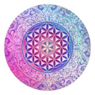 Flower Of Life / Blume des Lebens - Ornament V Card