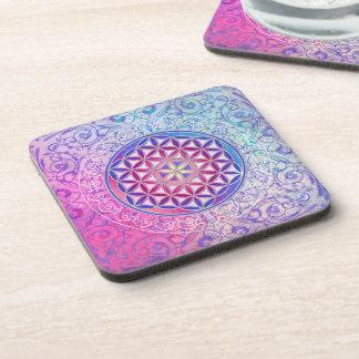 Flower Of Life / Blume des Lebens - Ornament V Coaster