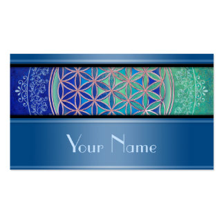 Flower Of Life / Blume des Lebens - Ornament VI Double-Sided Standard Business Cards (Pack Of 100)