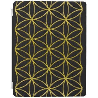 Flower of Life / Blume des Lebens - pattern gold iPad Smart Cover